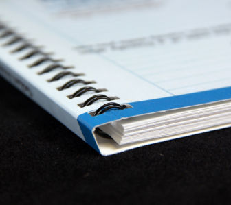 Concealed Wire-O Binding Services by Corporate Disk Company