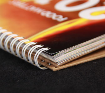 Easel Binding Services by Corporate Disk Company