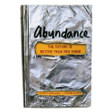 "Peter Diamandis ""Abundance Thinking"" Hardcover Book by Corporate Disk Company"