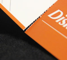 Perforated Edge Print Finishing Services by Corporate Disk Company
