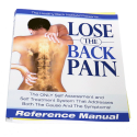 """Healthy Back Institute """"Lose The Back Pain"""" Workbook Cover by Corporate Disk Company"""