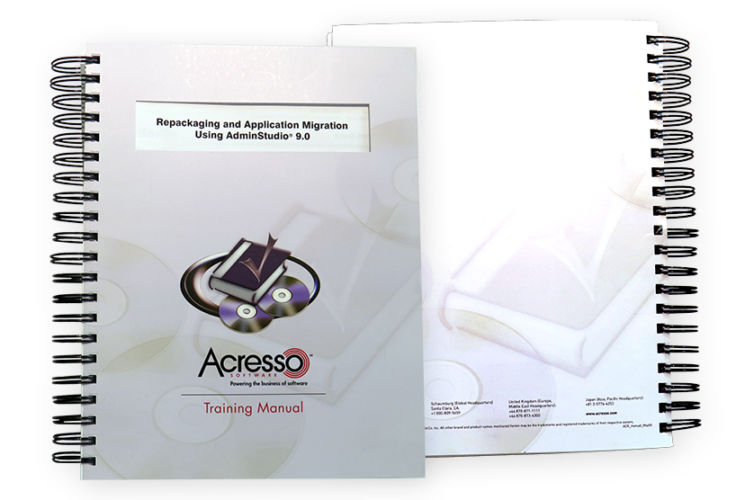 AdminStudio 9 Training Manual