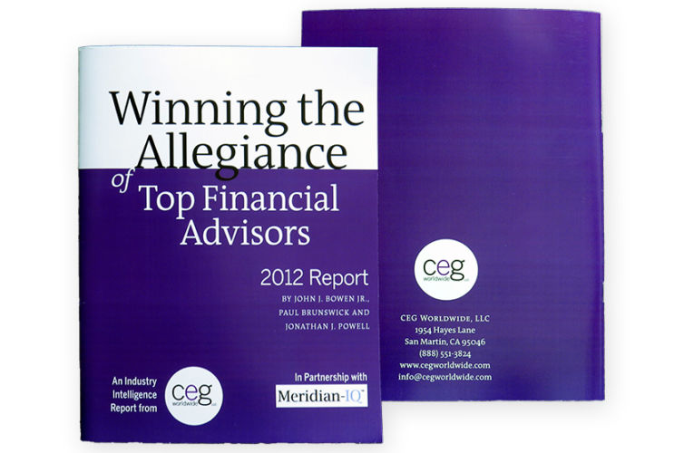 Winning The Allegiance of Top Financial Advisors