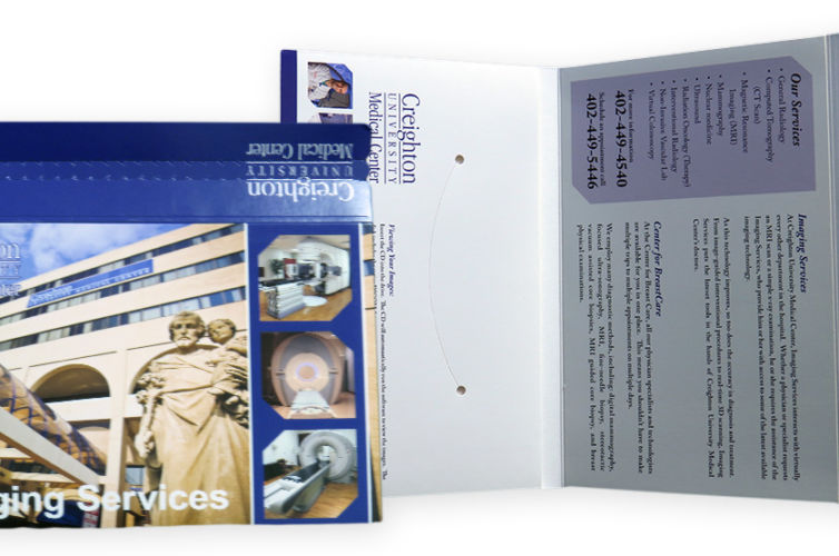 Imaging Services DVD Mailer