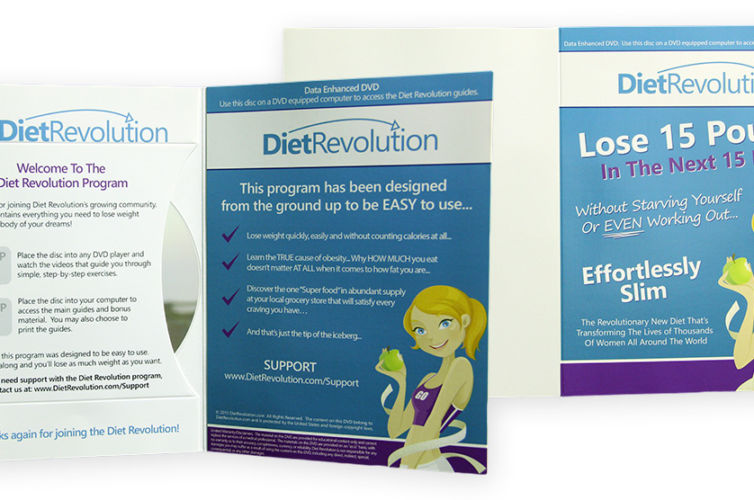Diet Revolution DVD Mailer