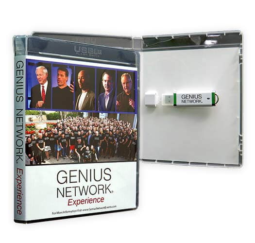 Genius Network Experience USB Packaging by Corporate Disk Company