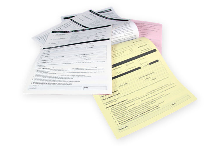 Infusionsoft Enrollment Form