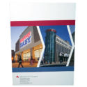 """Inland Real Estate Corporation """"Advancing Value: 2011 Annual Report"""" Cover by Corporate Disk Company"""