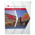 """Inland Real Estate Corporation """"Advancing Value: 2011 Annual Report"""" Front Cover by Corporate Disk Company"""