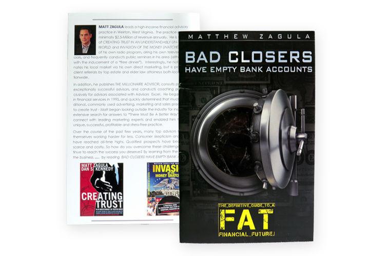 Bad Closers Have Empty Bank Accounts