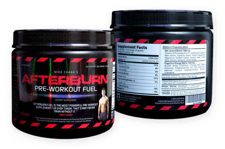 Afterburn: Pre-Workout Fuel