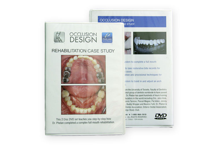 Occlusion Design: Rehab Case Studies