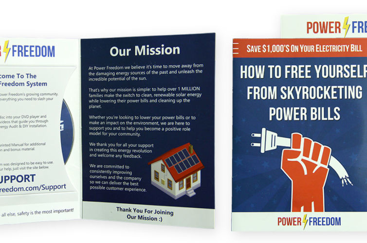 Power Freedom DVD Mailer