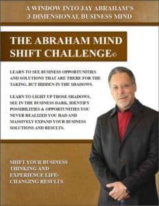 Jay Abraham Mind Shift Challenge Bonus Book
