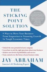 Jay Abraham Sticking Point Solution Bonus Book