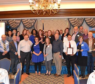 United Way Award Winners with Corporate Disk Company