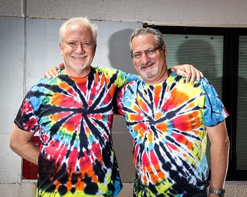 Joseph Foley and David Gimble from Corporate Disk Company