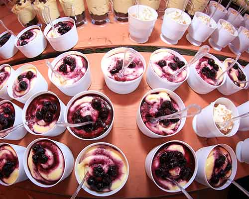Dessert at the 2016 Annual Picnic by Corporate Disk Company