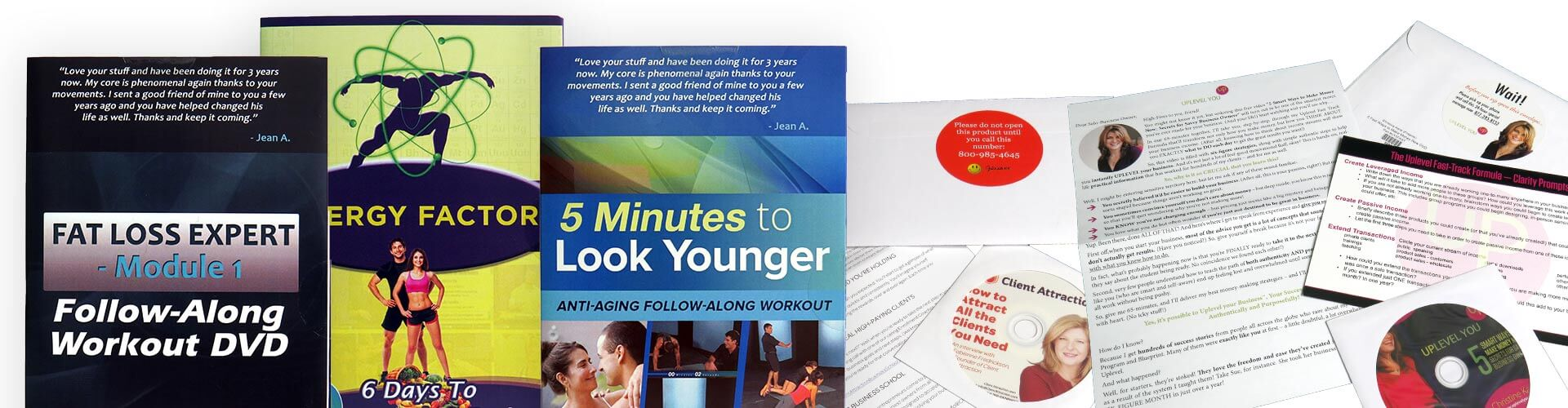 Direct Mail Printing and Packaging Services by Corporate Disk Company