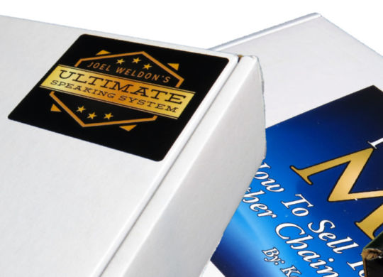 Standard, Colored, Labeled, and Custom Shipping Boxes by Corporate Disk Company