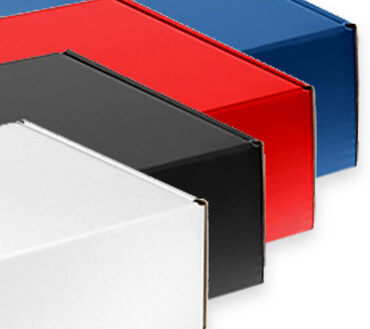 Standard & Colored Shipping Boxes by Corporate Disk Company