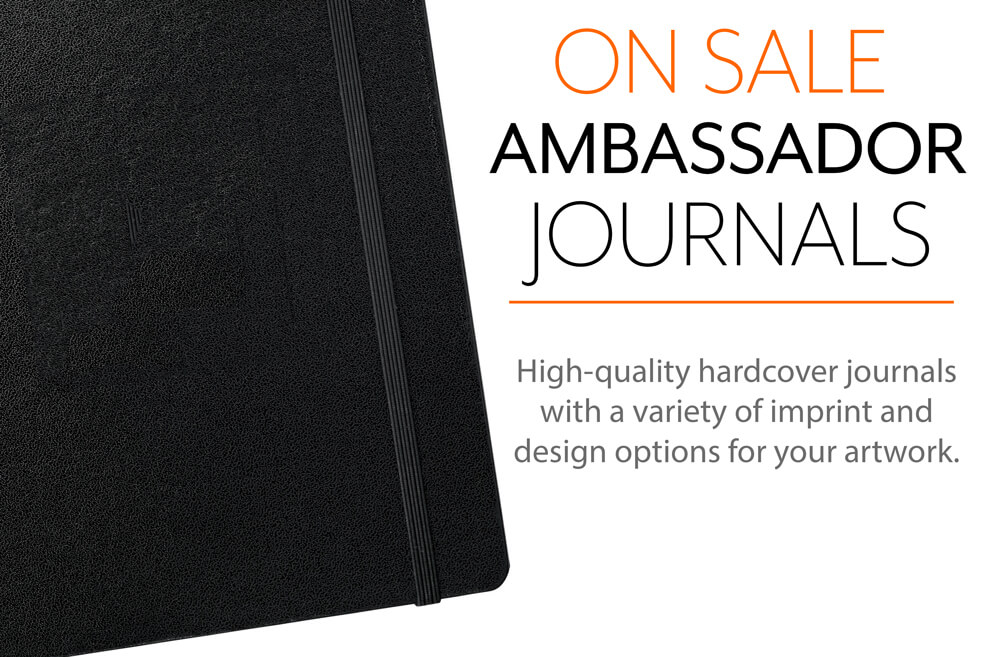 Ambassador Bound JournalBooks are now on sale at Corporate Disk Company