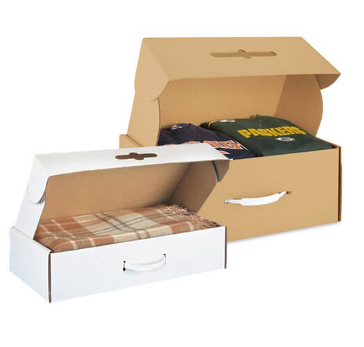 Carrying Case Corrugated Box Packaging by Corporate Disk Company