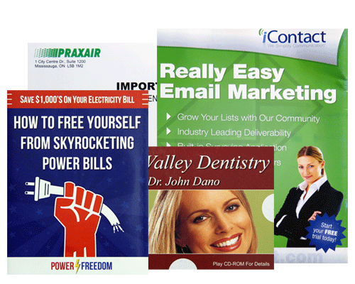 Direct Mail Printing by Corporate Disk Company