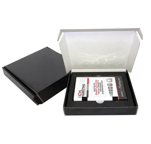 Stock DVD Corrugate Box Packaging by Corporate Disk Company
