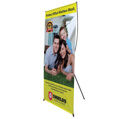 Banner Stand Printing by Corporate Disk Company