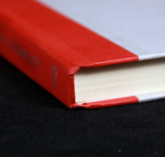 Case-Bound Tape Bound Binding by Corporate Disk Company