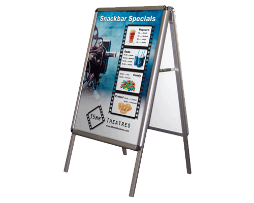 Custom Display Sign Printing and Production by Corporate Disk Company