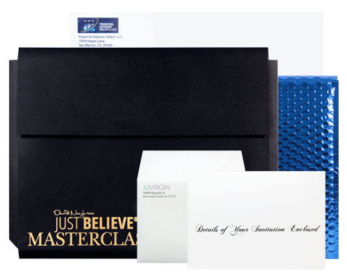 Custom Envelope Printing by Corporate Disk Company