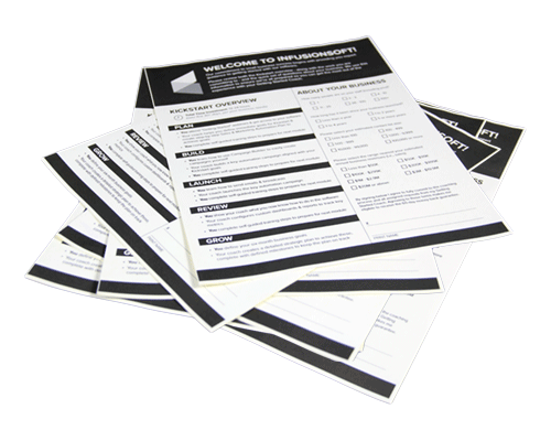 Custom Form Printing by Corporate Disk Company