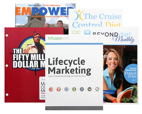 Custom Magazine Printing Services by Corporate Disk Company
