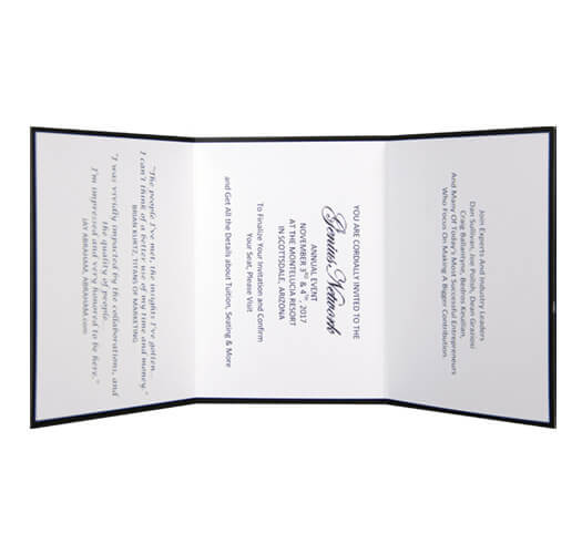 Direct Invitation Printing by Corporate Disk Company