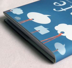 Dust Jacket Paper Finishing by Corporate Disk Company