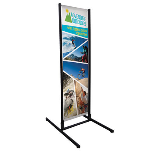 Floor Banner Printing by Corporate Disk Company