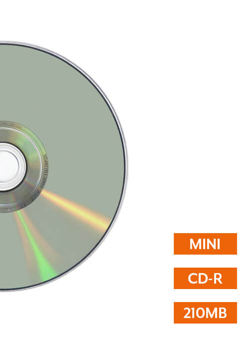 Mini CD Duplication by Corporate Disk Company