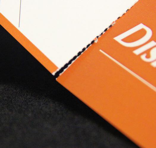 Perforated Edge Print Finishing by Corporate Disk Company