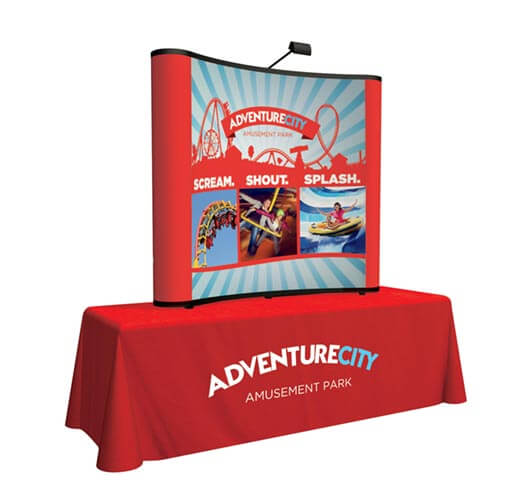 Pop-Up Banner Printing by Corporate Disk Company