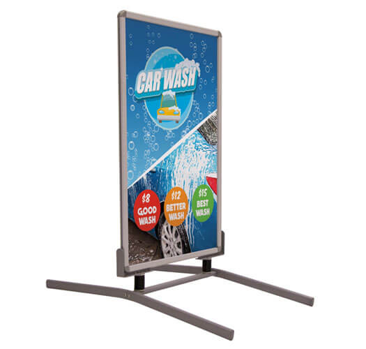 Retail Sign Printing by Corporate Disk Company