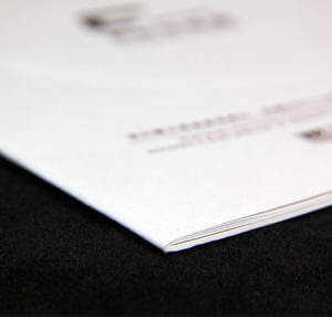 Saddle-Stitch Binding by Corporate Disk Company