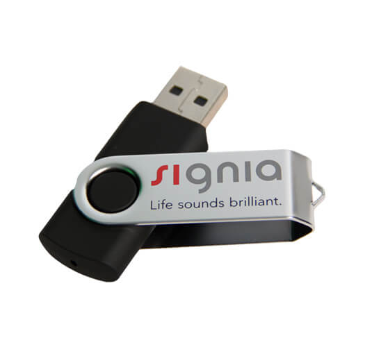 Silkscreen USB Printing by Corporate Disk Company