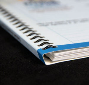 Specialty Concealed Wire-O Binding by Corporate Disk Company
