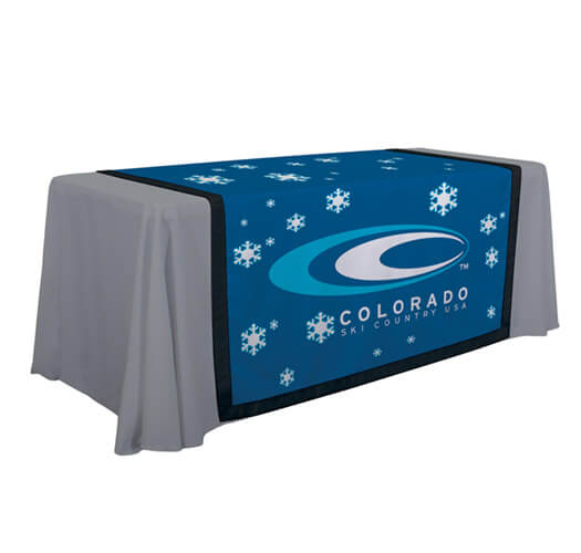 Table Runner Printing by Corporate Disk Company
