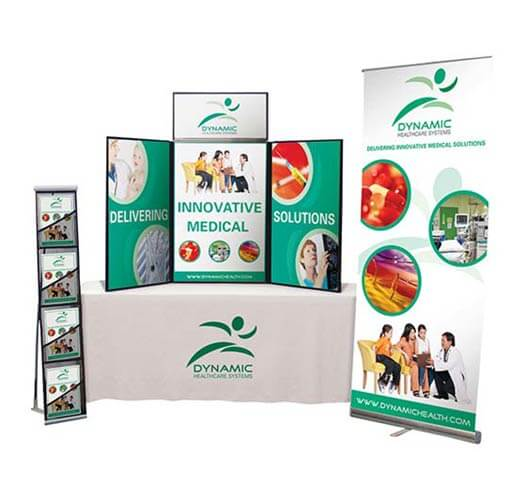 Tradeshow Display Printing by Corporate Disk Company