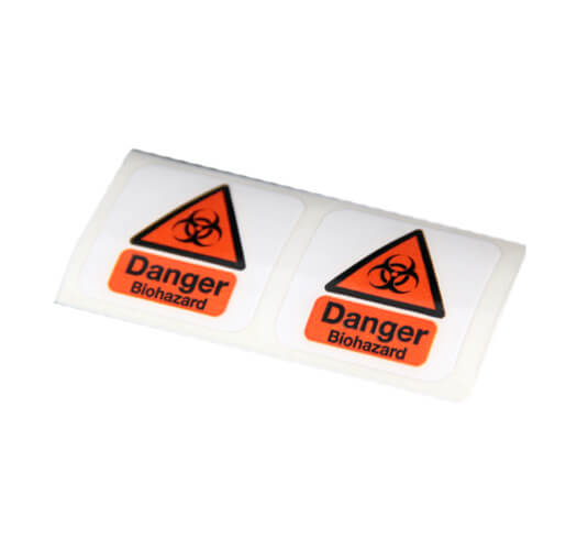 Warning Label Printing by Corporate Disk Company