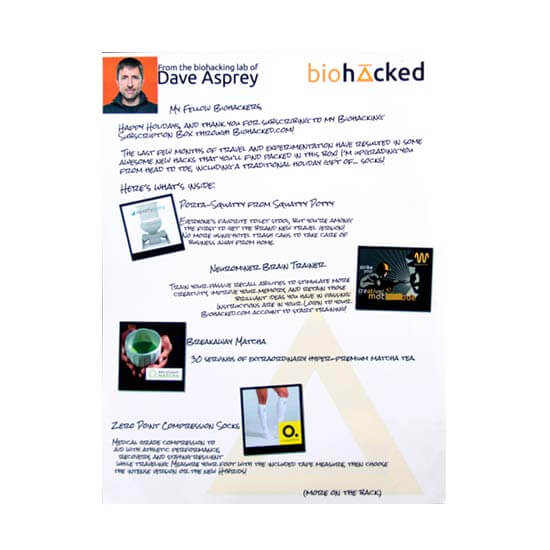 Paper Flyer Printing Example #2 by Corporate Disk Company