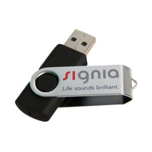 Silkscreen USB Printing Example #1 by Corporate Disk Company